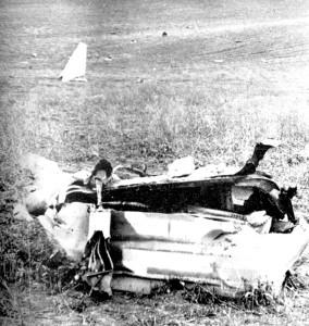 Ադրբեջանական կործանված ինքնաթիռ