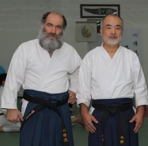 Հենրիկ Շահբազյան և Տակաո Կիտանո
