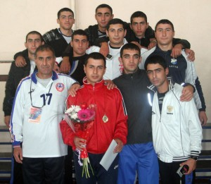 ARMENIAN SERVICEMEN WON 2 GOLDEN AND 1 SILVER MEDALS
