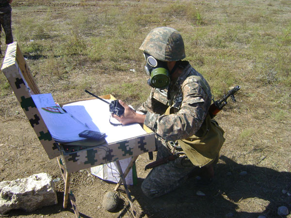 """""""THE BEST ARTILLERY BATTERY"""" COMPETITION'S RESULTS"""