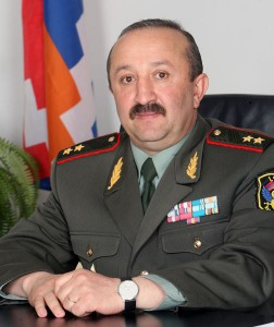 APPOINTMENT AT NKR DEFENSE MINISTER