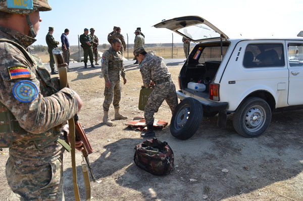 ARMENIAN PEACEKEEPERS PASSED ON THEIR EXPERIENCE AND MASTERY TO THEIR OCST COLLEAGUES