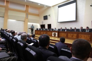 MINISTRY BOARD'S MEETING IN THE DEFENSE MINISTRY
