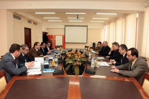 MEETING IN THE DEFENSE MINISTRY