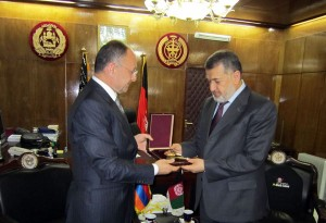 SEYRAN OHANYAN'S WORKING VISIT TO THE ISLAMIC REPUBLIC OF AFGHANISTAN