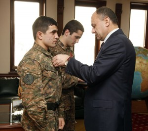 ARMENIAN SOLDIERS WON SILVER AND BRONZE MEDALS