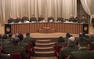 ON NKR ARMY OF DEFENSE MILITARY COUNCIL MEETING