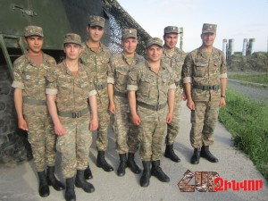 READY TO DEFEND ARMENIAN SKY