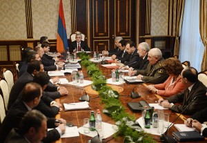 PRESIDENT CONVENED NATIONAL SECURITY COUNCIL MEETING