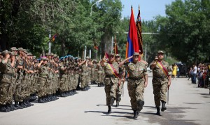 ANNIVERSARY OF THE FORMATION OF THE MILITARY UNIT AFTER VAZGEN SARGSYAN
