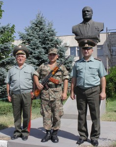 THREE GENERATIONS - PROTECTING THE FATHERLAND