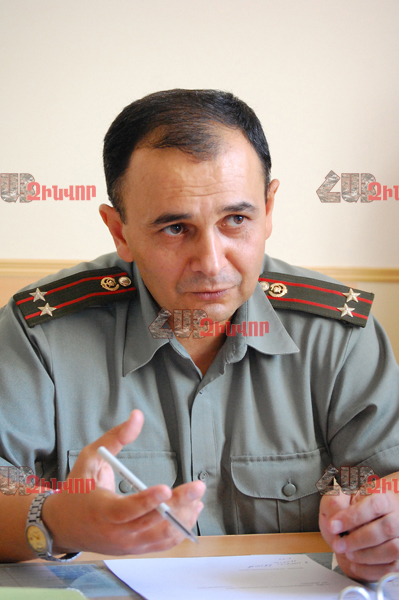 THE EPIDEMIOLOGICAL SITUATION IN THE ARMY IS STABLE