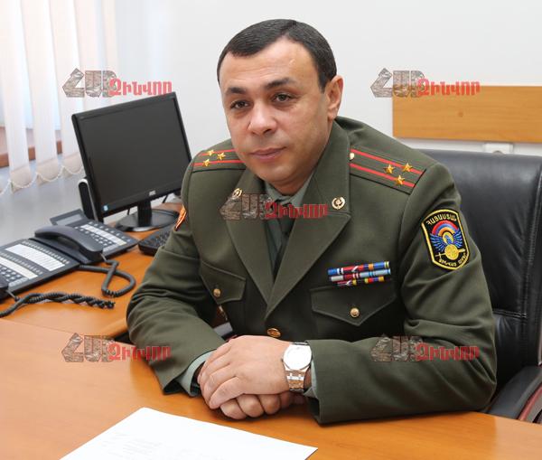 Արցախից Երևան տեղափոխված 2 զինծառայողների վիճակն էլ այս պահին ծայրահեղ ծանր է. Զինված ուժերի ռազմաբժշկական վարչության պետ