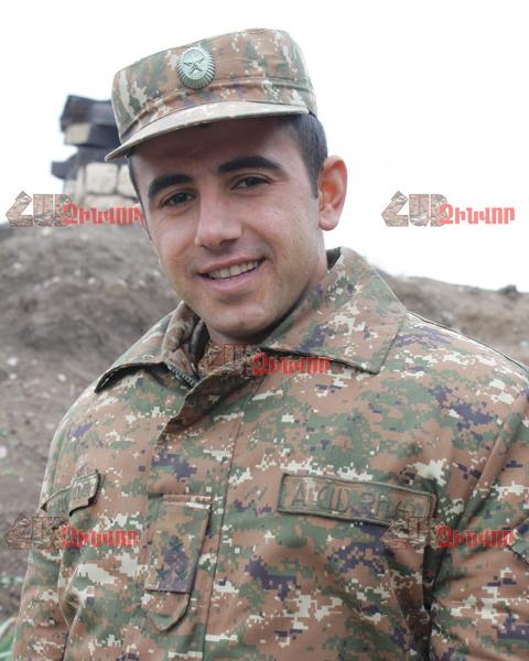 Ավագ լեյտենանտ Ա. Խաչատրյան