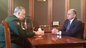 RA DEFENSE MINISTER MET WITH RF 1ST DEPUTY DEFENSE MINISTER