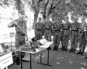 """SAFETY DAY"": AN EVENT IN THE ARTILLERY MILITARY UNITS"