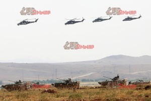 MILITARY TRAINING «SHANT-2015»