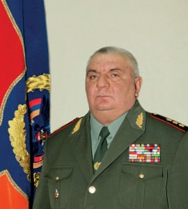 NEW YEAR'S CONGRATULATORY MESSAGE OF CHIEF OF STAFF OF THE ARMED FORCES OF THE REPUBLIC OF ARMENIA