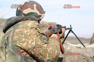 FEAT OF ARMENIAN SOLDIER
