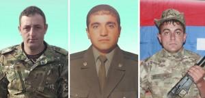 Նվեր Սիմոնյան, Ազնավուր Բալայան, Ղարիբ Սահակյան
