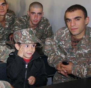 Ես զինվոր եմ... Դանիել Կիրակոսյան, 4 տարեկան