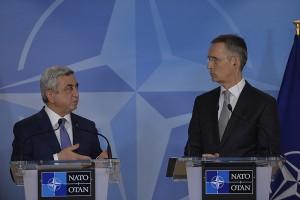 ПРЕЗИДЕНТ РА В ШТАБ-КВАРТИРЕ НАТО