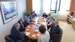 Bilateral meeting between NATO Deputy Secretary General Rose Gottemoeller and the Minister of Defence of Armenia, Vigen Sargsyan