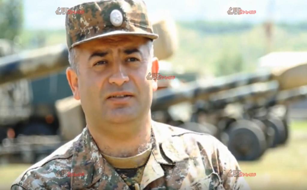 Полковник Г.Саакян: Слова З.Гасанова – пустозвонство и откровенная ложь, Азербайджан не может сбивать ракеты комплексов «Искандер»