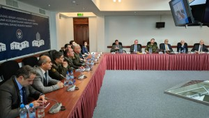 THE NATO DEFENSE EDUCATION ENHANCEMENT PROGRAM EXPERTS VISIT ARMENIA