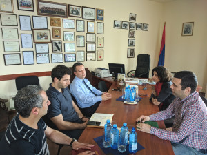THE HEAD OF NATO LIAISON OFFICE IN THE SOUTH CAUCASUS VISITS ARMENIA