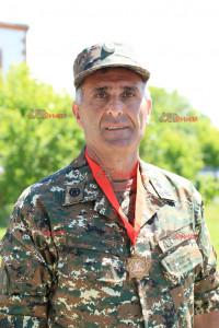 Հաղթող թիմի ավագ, գնդապետ Հայկ Մարգարյանը Վ. Սարգսյանի անվան ռազմական համալսարանի ֆիզիկական պատրաստության և սպորտի ամբիոնի պետն է: Նա բոլոր մասնակիցների մեջ տարիքով ամենամեծն է՝ 55 տարեկան, բայց իր գերազանց ելույթով կարողացել է նպաստել թիմի ընդհանուր հաղթանակին: