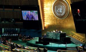 ՀՀ ՎԱՐՉԱՊԵՏ ՆԻԿՈԼ ՓԱՇԻՆՅԱՆԻ ԱՌԱՋԻՆ ԵԼՈՒՅԹԸ ՄԱԿ-ՈՒՄ