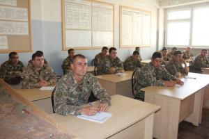 ՀՀ ՊՆ Վ. Սարգսյանի անվան ռազմական համալսարանում հոկտեմբերի 7-ին կազմակերպվել և անցկացվել են ստուգողական պարապմունքներ: