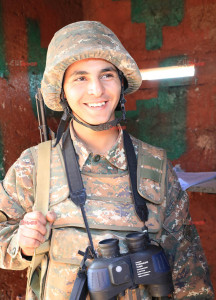 THE MOST IMPORTANT IS THE SOLDIER'S SMILE
