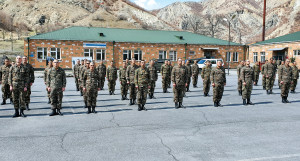 INSPECTION HELD IN ARMED FORCES
