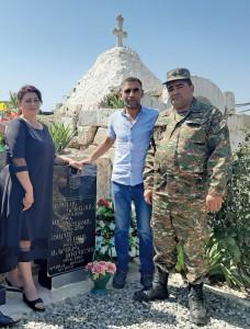 THE HERO LIVING IN THE HEART OF THE PEOPLE. ARMENAK URFANYAN