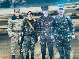 GRAD ILYA OR FOUR FRIENDS WHO DEDICATED THEIR LIVES TO THE HOMELAND